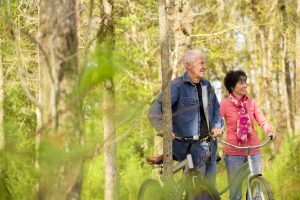 Staying active over 50 could include finding someone to be active with.