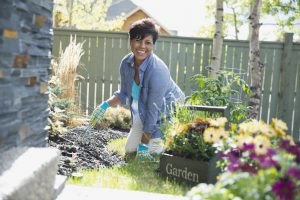 Gardening is actually a great way to stay active over 50.