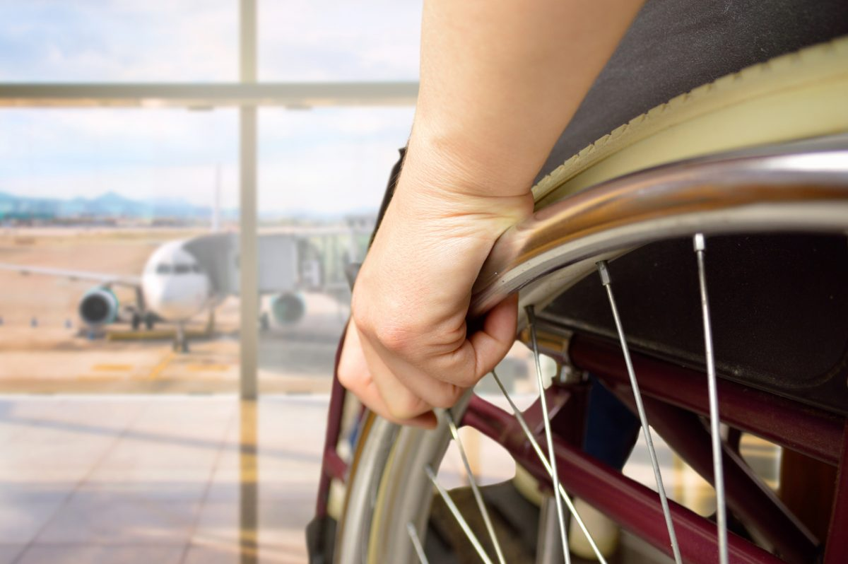 Airline travel while disabled is possible, with the right planning.