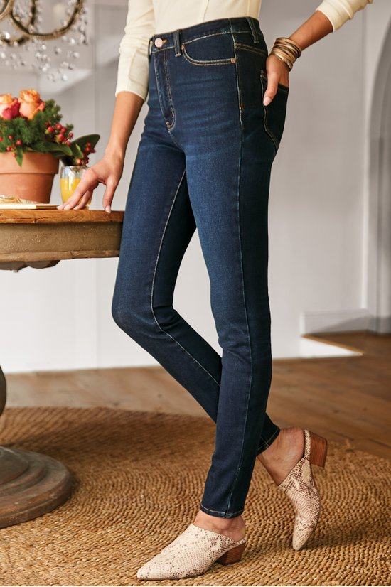 Soft Surroundings Ultimate High Rise Slim Jeans