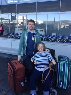 Traveling with disabled family members is not the issue it once was. Many forms of transportation can now accommodate assisted travel.