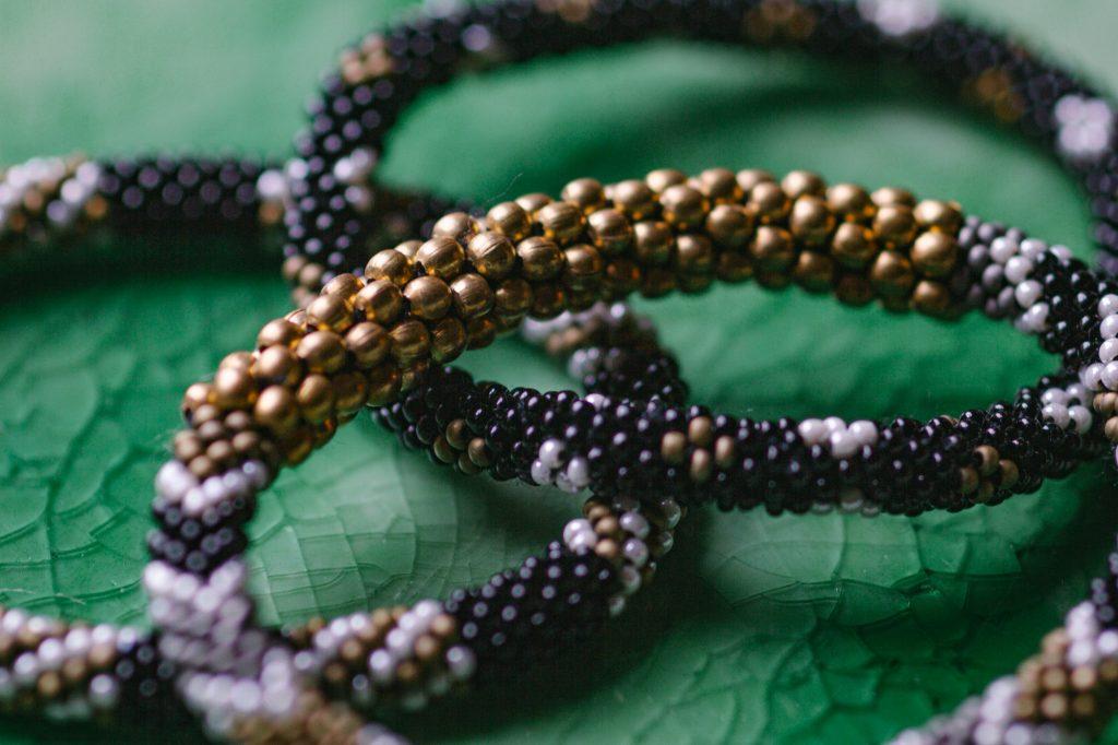Aid Though Trade Bracelet closeup