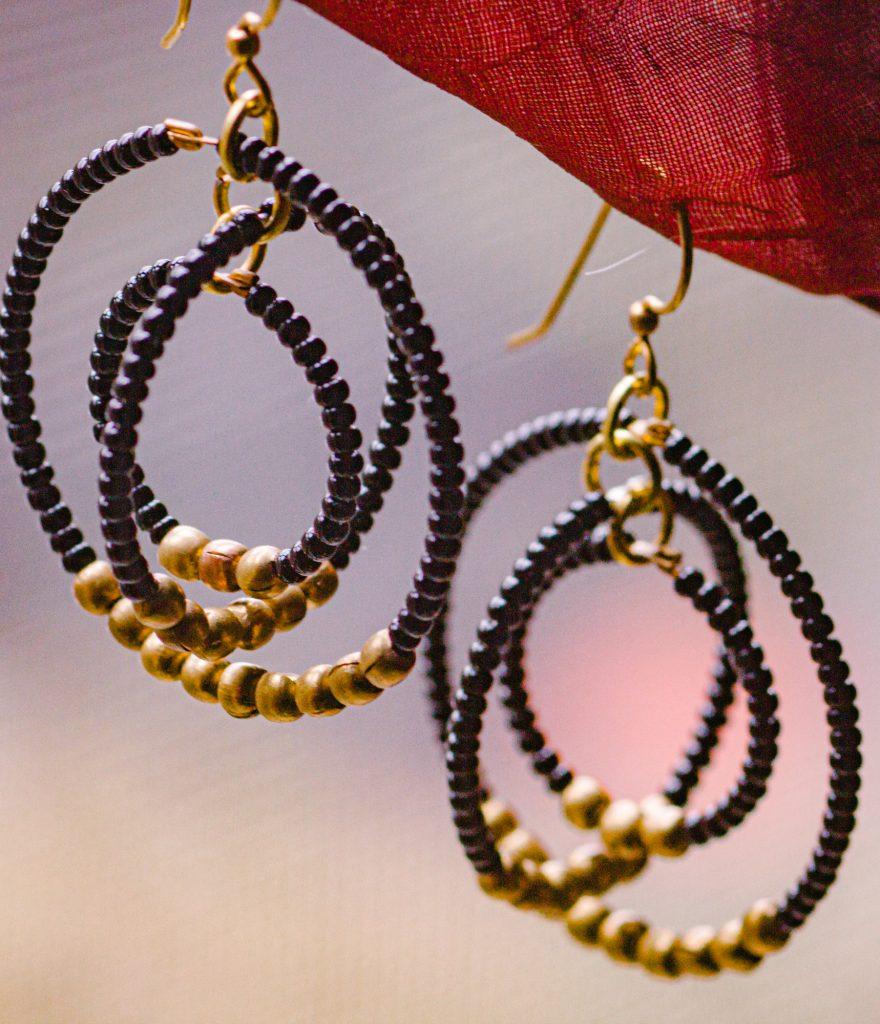 Prime Pick Aid Through Trade Gyroscope Earrings