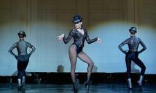 Jazz dancing is a passion of Jo Howell's --and she's taking a class.