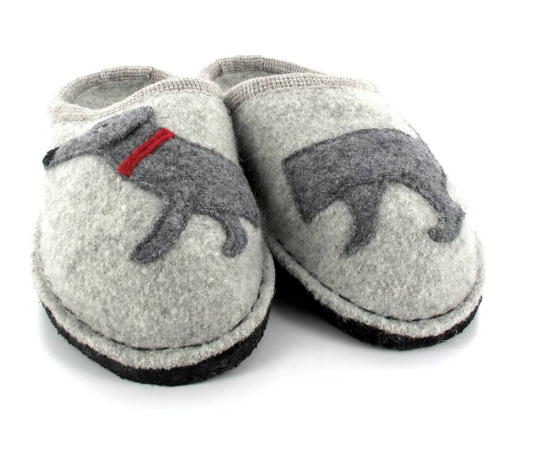 Haflinger Dog Slippers