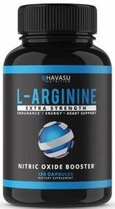 Havasu Nutrition Extra Strength L Arginine Nitric Oxide Supplement