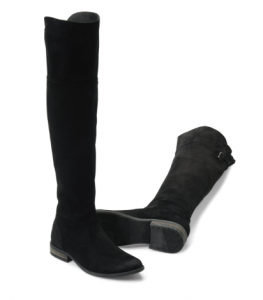 Dal suede over the knee boots born