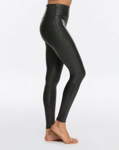 Spanx leggings for women in faux leather