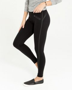 tech tape leggings that suck in your gut and make your butt look great