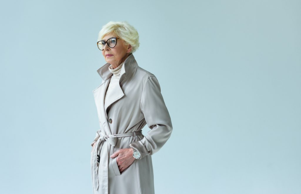 Trench Coat fashion for Wome over 50