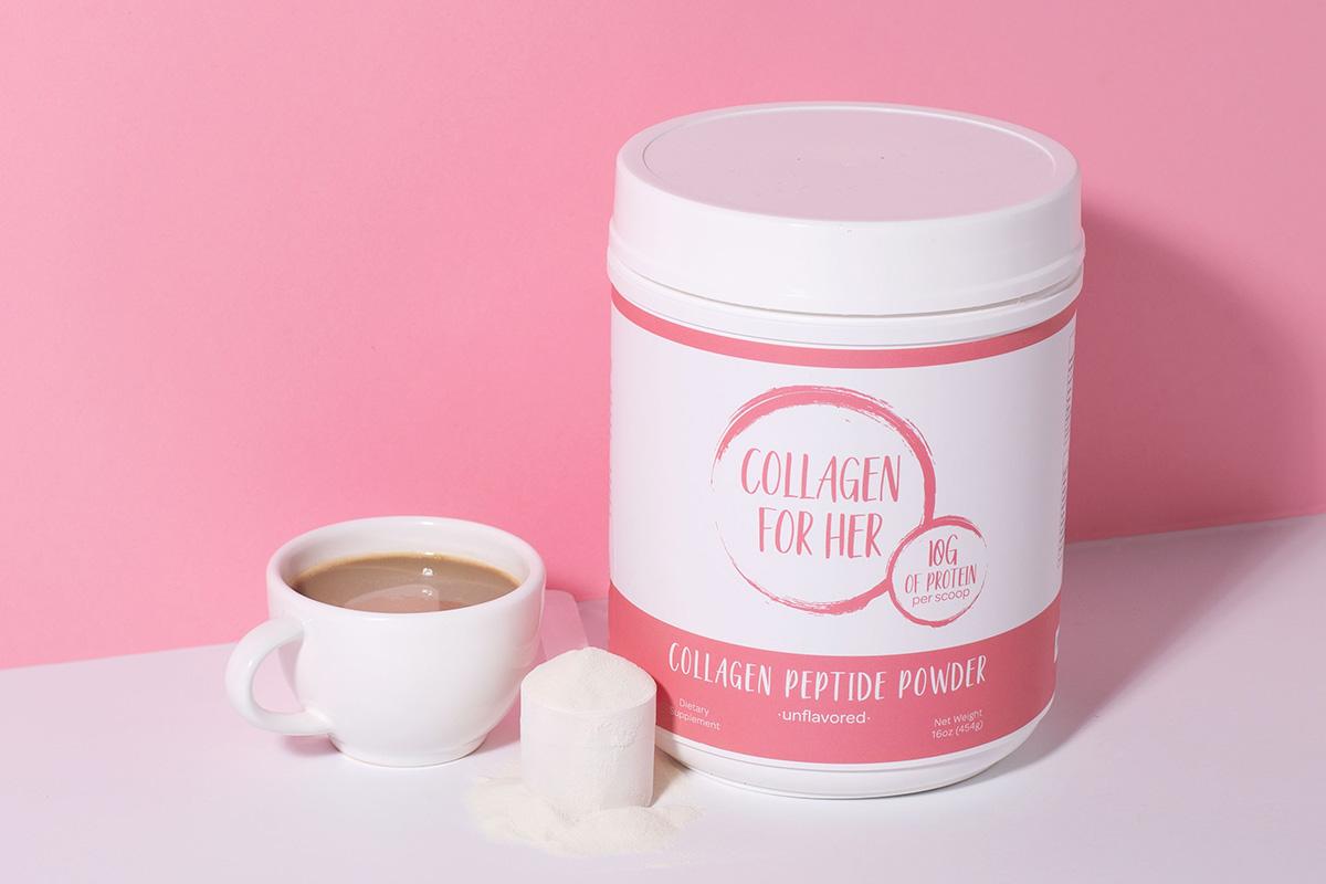 Collagen for her flavorless powder