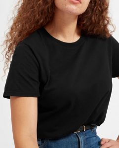 The Everlane box-cut tee is a great choice for the budget-conscious.