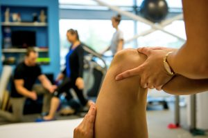 Physical therapy is necessary for recovery after a knee replacement.
