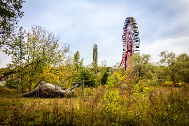 Touring abandoned Spreepark will be an unforgettable thing to do in Berlin.