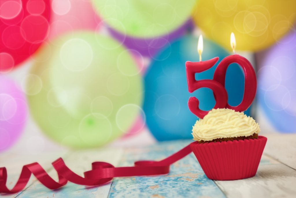 What can you expect as you turn 50.