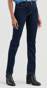 Levi's are classic and the high-rise style is perfect for women over 50!