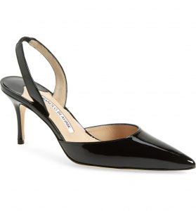 Manolo Blahnik's are truly an investment that will look stylish and last for years!