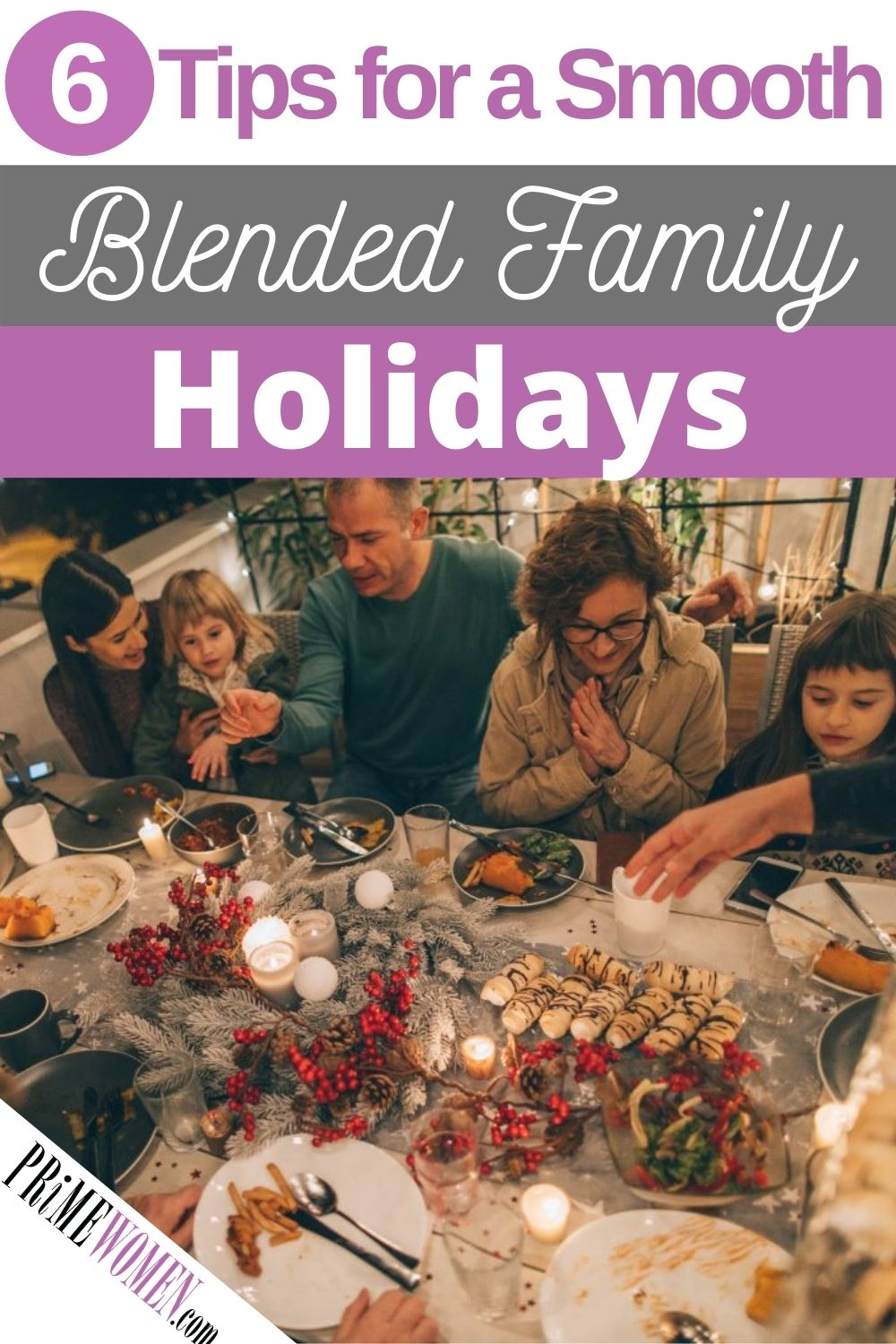 6 Tips for a smooth blended family holiday gathering