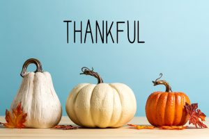 Prime Writers Thankful for lots this Thanksgiving day