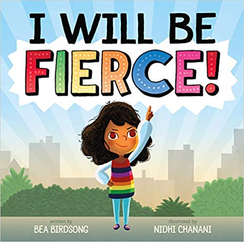 book lover gifts: I Will Be Fierce