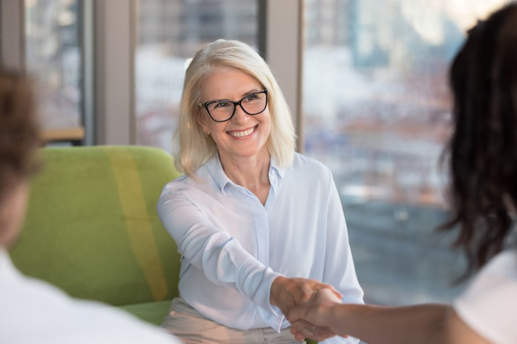 Approach a job search with an attitude of gratitude