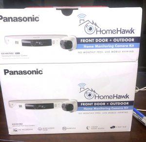 Panasonic HomeHawk camera packaging