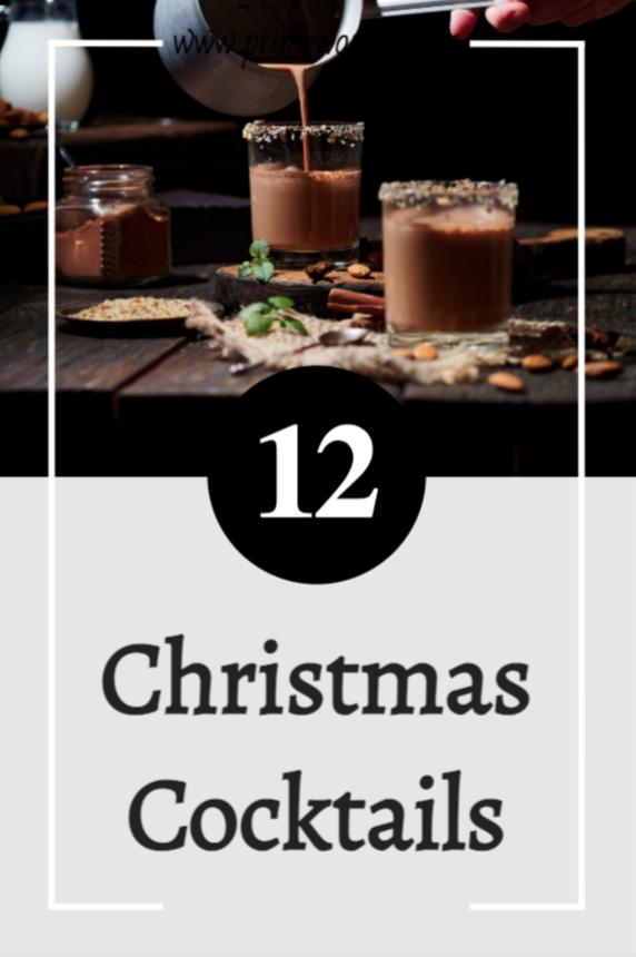 12 Christmas Cocktails