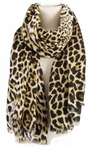 Aiwank Womens Leopard Print Scarf Large Blanket Wrap Shawl