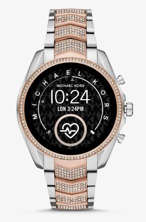 Gen 5 Bradshaw Pavé Two-Tone Smartwatch