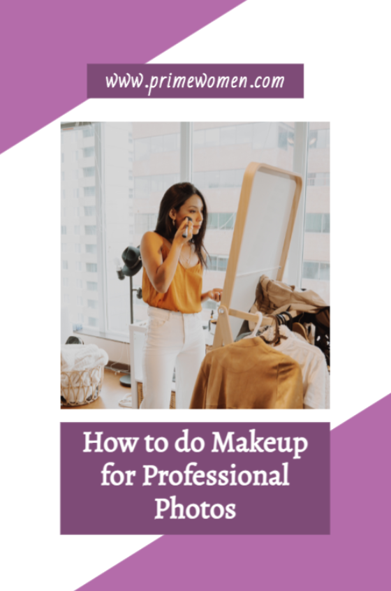 How to do makeup for professional photos