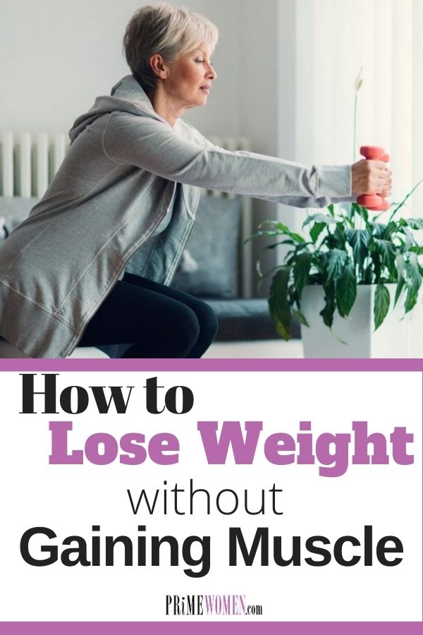 How to lose weight without gaining muscle