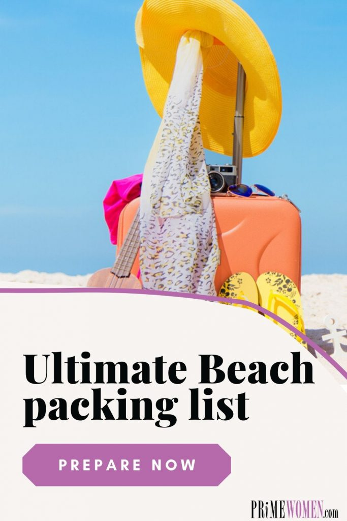 The Ultimate Beach packing list