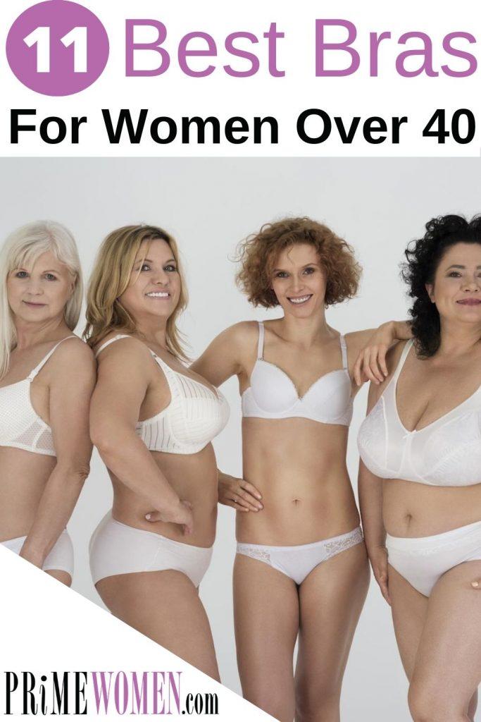 11 Best Bras for women over 40