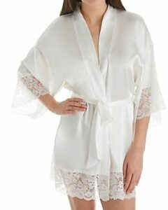 Her Room In Bloom by Jonquil Satin Bridal Wrap Robe