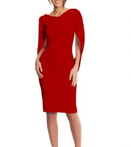 Betsy & Adam Drape Dress, $119.40