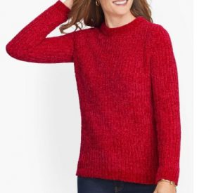 Cozy Chenille Crewneck Sweater, $29.99