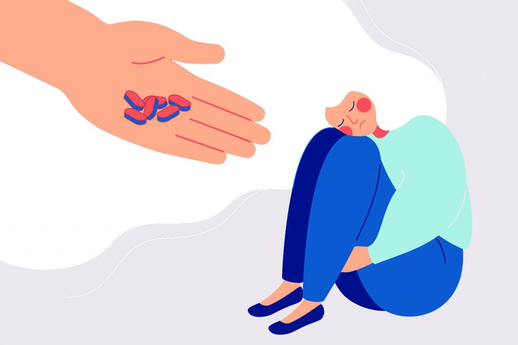 there is no magic pill for grieving