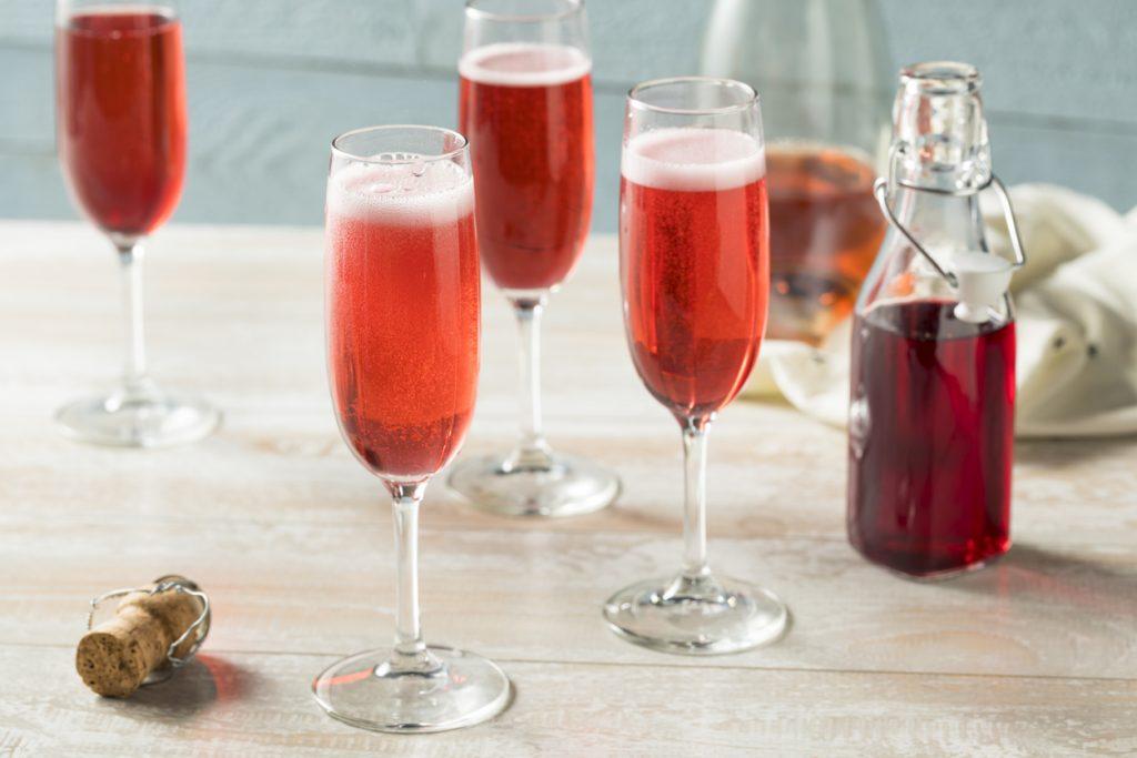 cranberry shrub cocktails