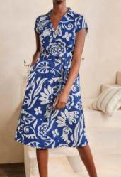 Rowena Shirt Dress, $130