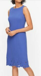 Embroidered Ponte Dresses for women over 50