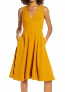Catalina Fit & Flare Cocktail Dress