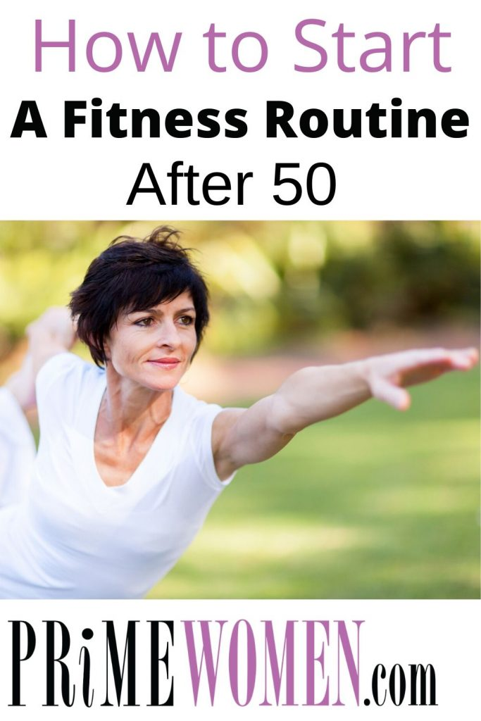 How to start a fitness routine after 50