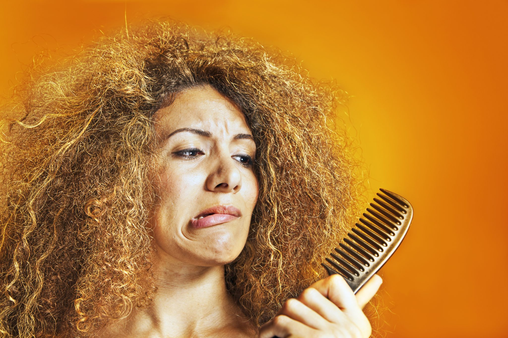 How to Tame Hair Frizz After Menopause