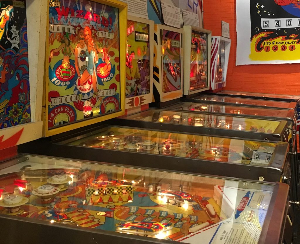 pinball museum staycation