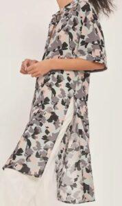 Maeve Rita Printed Tunic Blouse