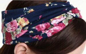 DRESHOW 4 Pack Turban Headbands