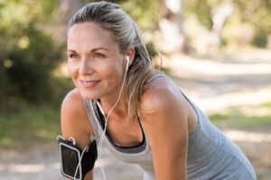 woman working out showing the best exercise for your immune system