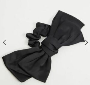 My Accessories oversized bow hair scrunchie