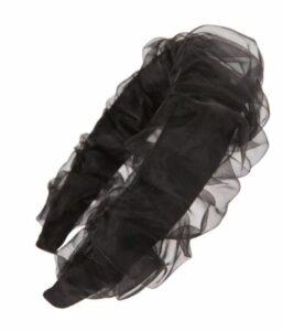 Pleated Mesh Headband