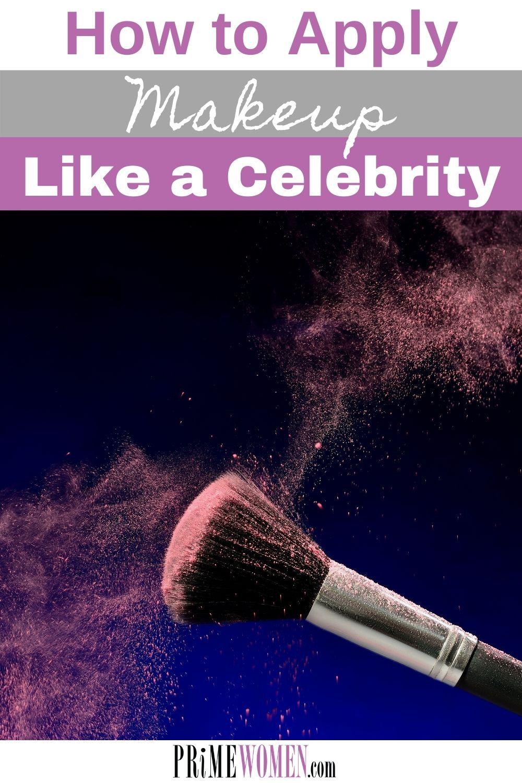 How to apply makeup like a celebrity